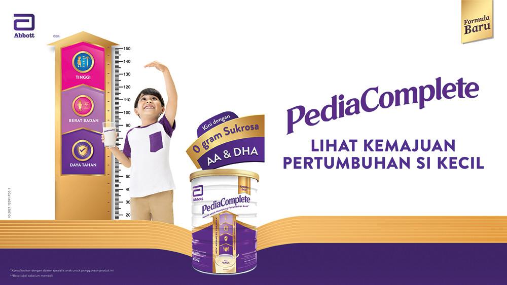 Pediasure Complete Kini Menjadi PediaComplete