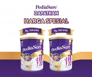 Harga Spesial untuk Produk PediaSure!